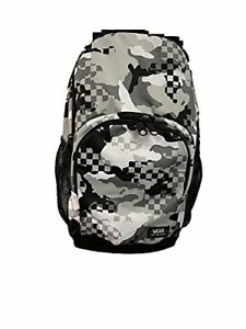 Vans Alumini backpack Black white Camo university school bag casual travel La...