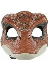 Jurassic World Velociraptor Tiger Legacy Dinosaur Orange Raptor Mask - In Hand