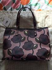 Orla Kiely Purple Passion Flower Tilly Tillie Shoulder Hand Bag