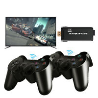 Mini 4K HDMI TV Game Stick 10000+ Retro Classic Games Console With 2 Controller
