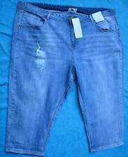 beme Light Wash Denim Crop 70s Jeans Blue Denim Size 26 Stretch