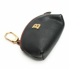 Authentic Bally Pebbled Leather Coin / Key Pouch