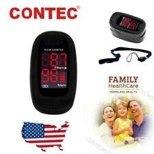 Contec Finger Pulse Oximeter Spo2 Blood Oxygen Saturation Monitoring O2 Tester