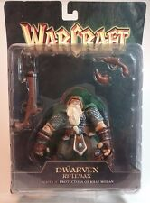 WORLD OF WARCRAFT SERIES II DWARVEN RIFLEMAN FIGURE MOC DWARF WARRIOR