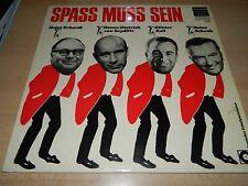 Spaß muss sein - Heinz Erhardt - Heinz Schenk - Günter Keil - Telefunken -  LP