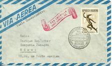 First Flight Buenons Aires - Miami - Panam 1949!!!