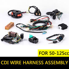 50-125cc CDI Wire Harness Stator Assembly Wiring Set Chinese ATV Electric Quad