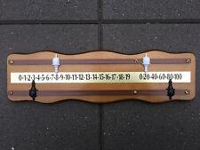 Hard Wood Wooden Wall Mount Billiard Snooker Pool Scoreboard Score Board Scorer