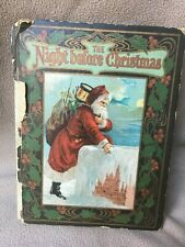 1906 THE NIGHT BEFORE CHRISTMAS CLEMENT MOORE LIZZIE LAWSON ALICE HIRSCHBERG