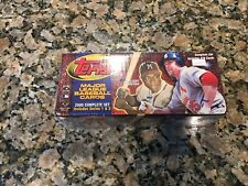 2000 TOPPS BASEBALL CARD FACTORY SEALED COMPLETE SET BRAND NEW!