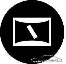 Choke-Zug choke cable Logo  - Vergaser Kaltstart Opel Olympia A Kadett B NEU