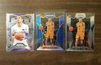 2019-20 Panini Prizm Draft Picks Justin James Blue Prizm RC Lot Sacramento Kings