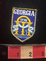 Vtg Georgia 1776 Collector Patch C75H