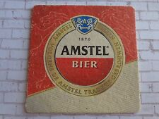 Beer Coaster ~ AMSTEL Bier ~ Staffordshire Bull Terriers Steps on your Computer?