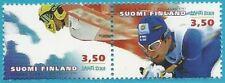 Finnland aus 2001 ** postfrisch MiNr.1552-1553 Zweierpaar - Ski-WM!