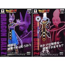 Dragon Ball Z DXF Vol.2 Battle of Gods Beerus, Whis Figures Set Banpresto PVC