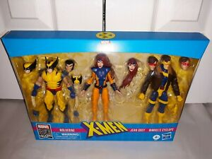 Marvel Legends X-Men 3-Pack Love Triangle Wolverine Jean Grey Cyclops NEW RARE!