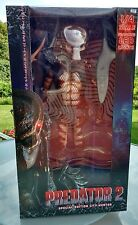 "20"" PREDATOR 2 SPECIAL EDITION CITY HUNTER LED LIGHTS 1/4 Scale FIGURE Neca huge"