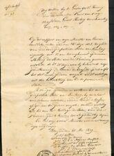 BRIEF INHOUD BRUSSEL 25 MEI 1829 ONTSLAGVERLENING KOLLEGIE VAN STATEN PRO- Ad069