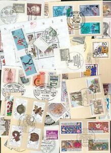 Berlin Lot Marken auf Briefstücke ,Michel 80 Euro