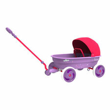 Eurotrike Princess Wagon with Foldable Canopy for the Girl About Town