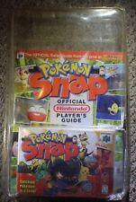 Pokemon Snap w/ Guide (Nintendo 64 n64) NEW Factory Sealed #B1 Blister Pack
