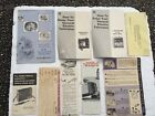 Vintage GE Television Manuals General Electric TV Advertisement photo