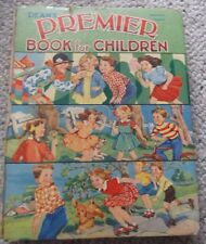 1960 DEANS PREMIER BOOK FOR CHILDREN, HARDCOVER, STORIES, PICTURES, PUZZLES