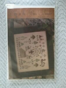 Brenda Gervais COZY IN THE PINES Cross Stitch PATTERN - stitch count 157 x 130