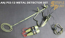 """Hobby Nuts 1:6 scale AN/PSS-12 Metal Detector Set for 12"""" figures HNSP-S12"""