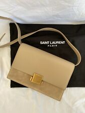 Yves Saint Laurent Bellechasse Bag Tasche Crossbody Beige Leder Wildleder