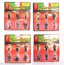 Lil Palermos Italian Mobsters Homies Figures Blister Packs COMPLETE Set Series