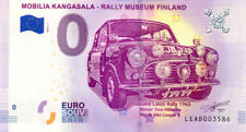FINLANDE Kangasala, Mobilia, Rally Museum Finland, 2018, Billet 0 € Souvenir