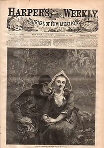 1868 Harpers Weekly September 26 - Seymour and Blair want the CSA and KKK back