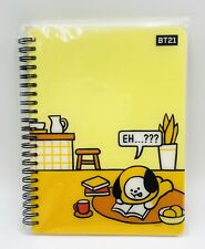 New BTS BT21 LINE FRIENDS OFFICIAL AUTHENTIC PP COVER Notebook Lined Journal USA