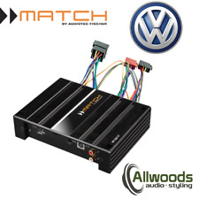 Match Amp & harness Package PP62DSP + FREE PP-AC Harness Cable VW Golf