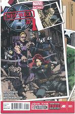 Secret Avengers #1-16  (NM/MT 1st Prints) (Complete 2013 Series)