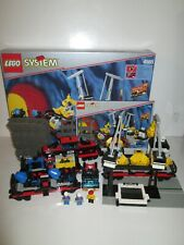 Lego 4565 System 9V Train Freight & Crane Railway 100% Complete Stickers 1996