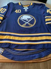 BUFFALO SABRES Carter Hutton 2018/19 Game Worn Jersey -COA From Sabres & Tagged