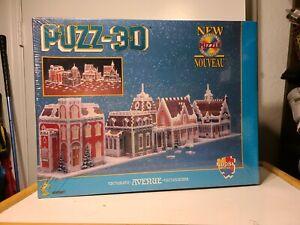 Wrebbit PUZZ-3D Victorian Avenue 1008 Piece Foam 3D Puzzle NEW SEALED BOX