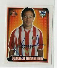 Merlin premier league football sticker 2003 Sunderland Joachim Bjorklund No 474