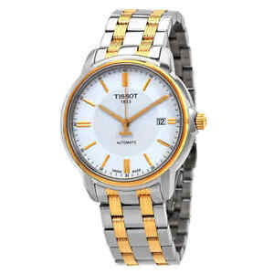 Tissot T-Classic Automatic III White Dial Men's Watch T065.407.22.031.00