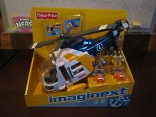 Fisher-Price Imaginext Helicopter Rescue Play Set 3-8 Retract hook propellers