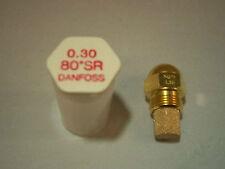 Brennerdüse Danfoss 0,30/80°SR Rundkopfdüse Düsenwechsel reduziert den Verbrauch