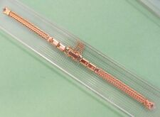 "Speidel Ladies Vintage Gold Filled Stretch Watch Band.;5 1/4""-5 3/4"".New"