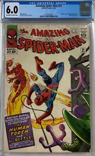 Amazing Spider-Man #21 CGC 6.0 Spider-Man pin-up!KEY ISSUE!L@@K!