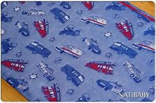 Natibaby Emergency Vehicles Woven Wrap - Size 7 (5.2m)