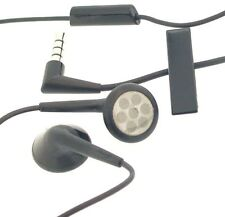 Genuine Blackberry Black Wired Headset Headphones 3.5mm