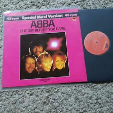 Abba - The day before you came 12'' Disco Vinyl HOLLAND