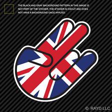 British Shocker Sticker Die Cut Decal Vinyl England UK Great Britian GBR GB